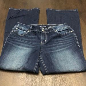Maurice's flare jeans